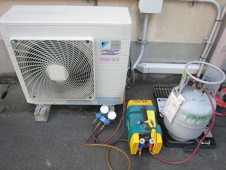 冷媒回収機
