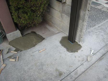 アコーディオン門扉