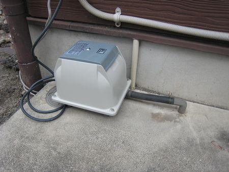 浄化槽ブロワー