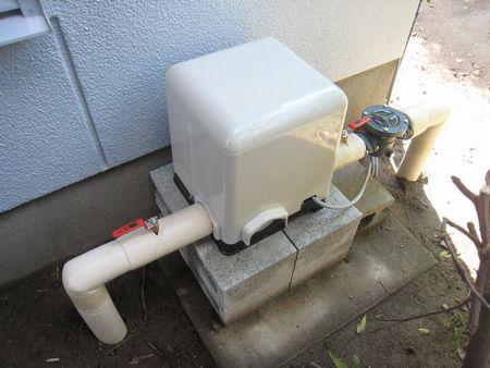 井戸ポンプ交換
