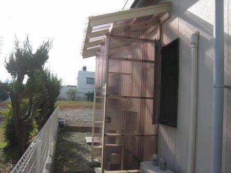 集塵機用小屋